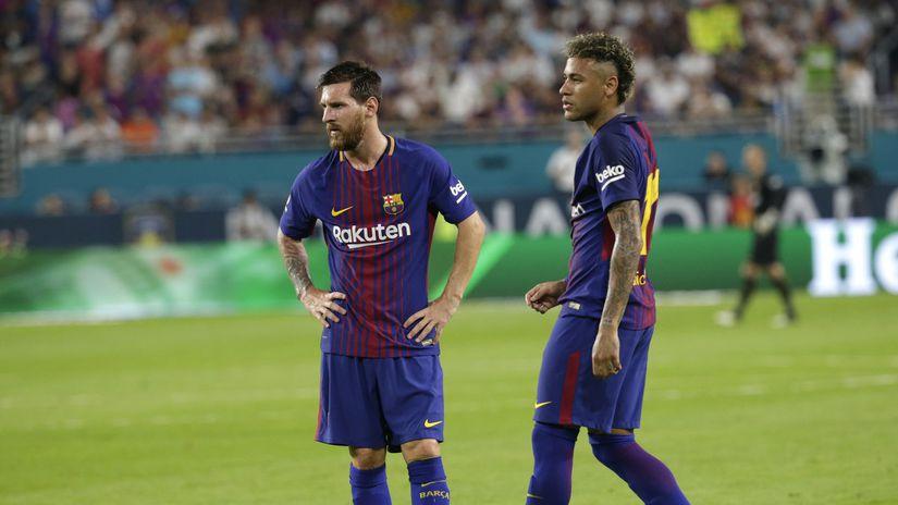 Messi, Neymar,