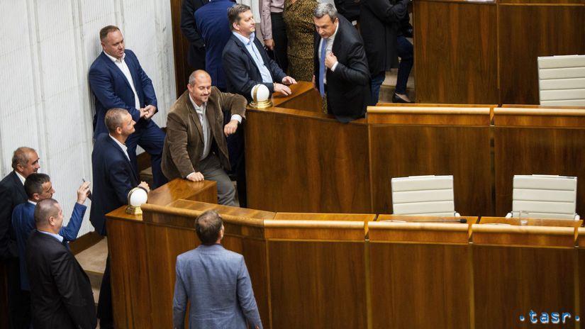 NRSR schôdza podpredseda nezvolenie Matovič...