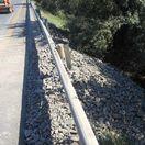 Zosuv krajnice ochromil diaľnicu D1. Pozrite si stav úseku pred Trnavou