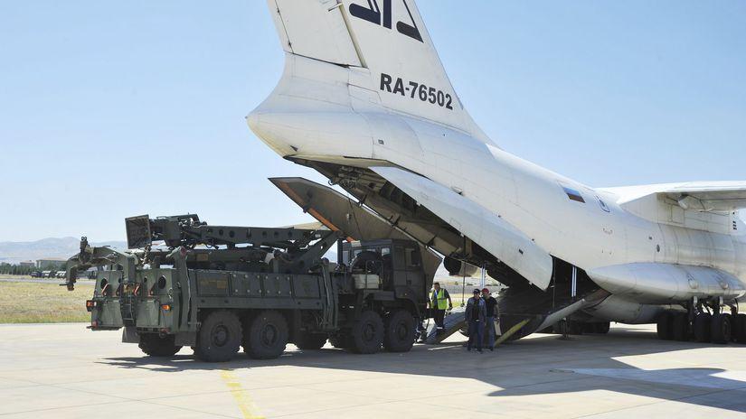 Turecko Rusko S-400 dodávka protivzdušná...