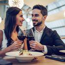 chuť, víno, gastronómia, reštaurácia, rande