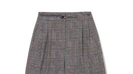 Dámske široké nohavice s károvaným vzorom Reserved, predávajú sa za 29,99 eura.