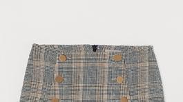 Károvaná sukňa H&M, predáva sa za 29,99 eura.