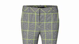 Kárované nohavice s výrazným kontrastným pruhom Marc Cain. Info o cene hľadajte v predaji.
