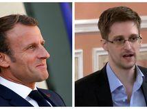 Macron - Snowden