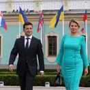 Ukrajina SR Kyjev prezidentka Čaputová návšteva Zelenskyj