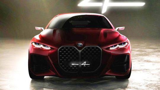 BMW Concept 4: Mníchov provokuje. Obrie ľadvinky rozdeľujú