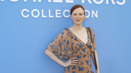 Karen Elson, šaty, jeseň, inšpirácia