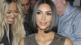 Televízna a internetová osobnosť Kim Kardashian na archívnom zábere.