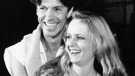 Záber z roku 1983, na ktorom sa choreograf Tommy Tune a modelka Twiggy zúčastňujú na skúške do muzikálu My One and Only.