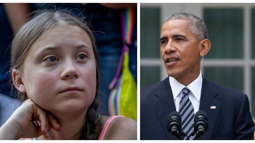 Greta Thunbergova - Barack Obama
