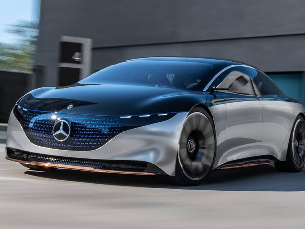 Mercedes-Benz Vision EQS - 2019
