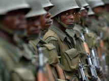 Rwanda / vojak / vojaci /