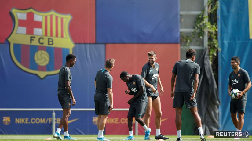 Barcelona, tréning