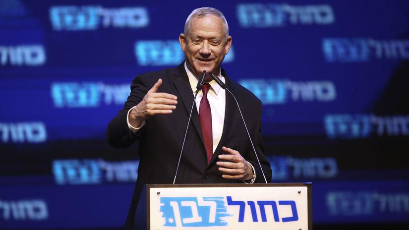 Izrael voľby / Benny Ganc /