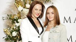 Na uvedenie novej vône vzala moderátorka Adriana Poláková aj svoju dcéru.
