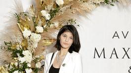 Na večerný event známej kozmetickej spoločnosti prišla aj speváčka Carmel Buckingham.