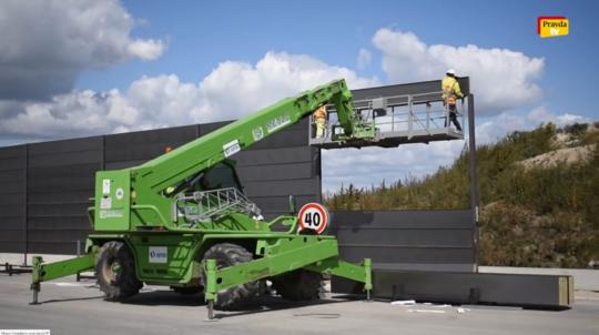 Výstavba rýchlostnej cesty R7.
