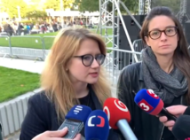 Farská: Dôveryhodnú vládu nemáme. Fico: Protesty sú motivované politicky