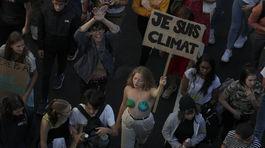 Klimaticky strajk Francuzsko 1