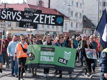 klimatický štrajk, klimaštrajk, bratislava, klíma, ptotest
