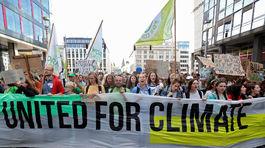 Klimaticky strajk v Belgicku