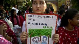 Klimaticky strajk v Indii