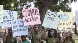 Klimatický štrajk v Nigérii