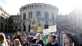 Klimatický štrajk v Nórsku
