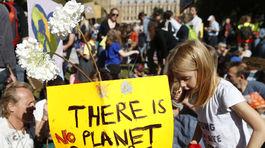 Klimaticky strajk v Britanii