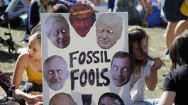 Klimaticky strajk v Britanii. 6JPG