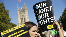 Klimaticky strajk v Britanii. 2JPG