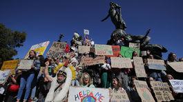 Klimaticky strajk vo Francuzsku