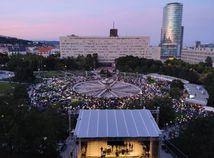 Vo viacerých mestách sa protestovalo Za slušné Slovensko