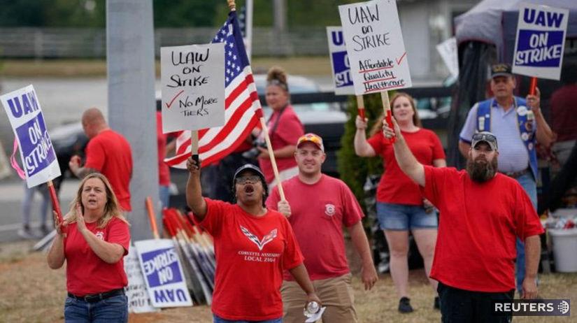 General Motors, štrajk