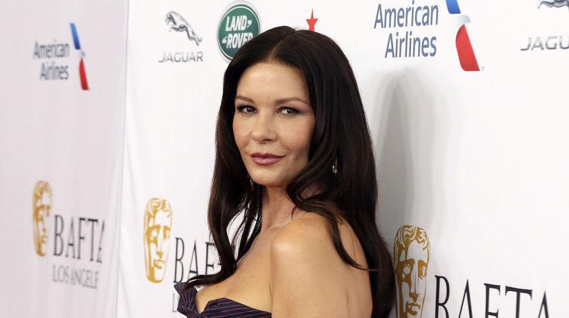 Herečka Catherine Zeta-Jones na párty pred...