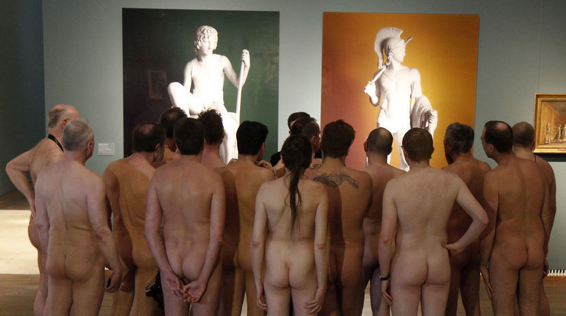Ilustračný záber z viedenského múzea pri...