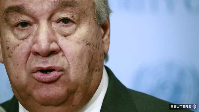 Generálny tajomník OSN / António Guterres /