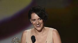 Herečka Phoebe Waller-Bridge získala cenu za výkon v komediálnom seriáli Potvora.