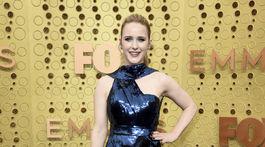 Herečka Rachel Brosnahan v kreácii Elie Saab Haute Couture.