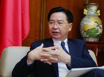 Taiwanský minister zahraničných vecí Joseph Wu