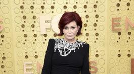 Televízna porotkyňa a zabávčka Sharon Osbourne.