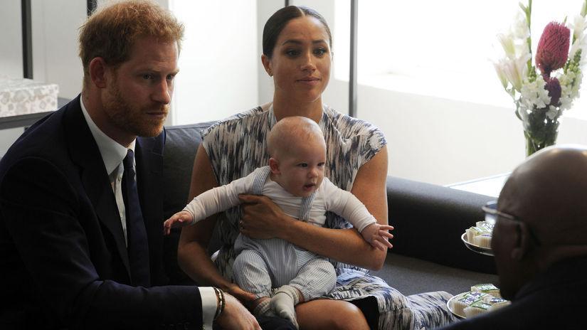 Princ Harry a Meghan, vojvodkyňa zo Sussexu