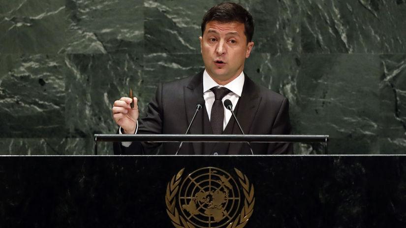volodymyr Zelenskyj valné zhromaždenie OSN USA