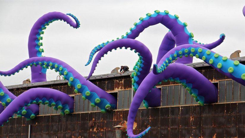 Chobotnica z dielne Filthy Lukera a Pedra...