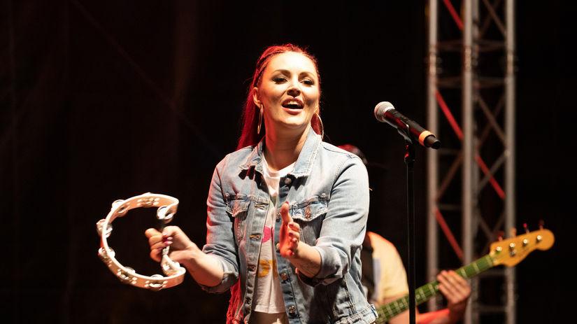 Speváčka Barbora Švidraňová.