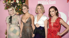 Lucy Boynton, Julia Schlaepfer, January Jones a Zoey Deutch
