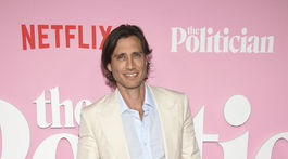 Scenárista a režisér Brad Falchuk predstavil v New Yorku film The Politician.