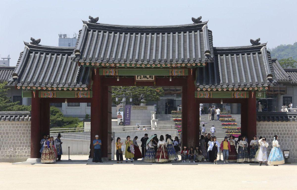 Južná Kórea, Soul, palác