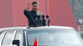 čína, vojenská prehliadka